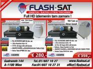 Türksat &Astra Set mit Montage