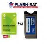 Satforce Irdeto CI+ Modul für den Betrieb in Receiver und LED LCD TVs mit der neuen ORF ICE Karte Zertifiziert