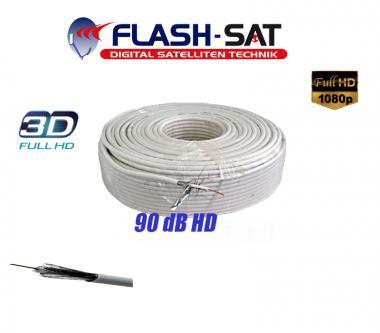 Koaxialkabel 90 dB 100m Rolle